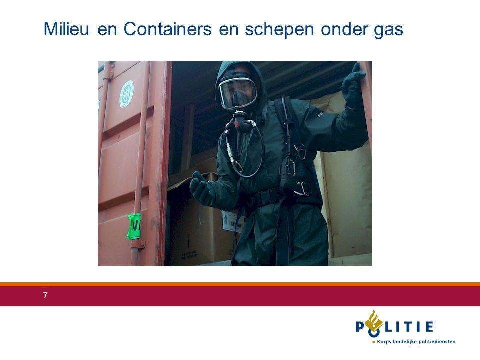 7 Milieu en Containers en schepen onder gas