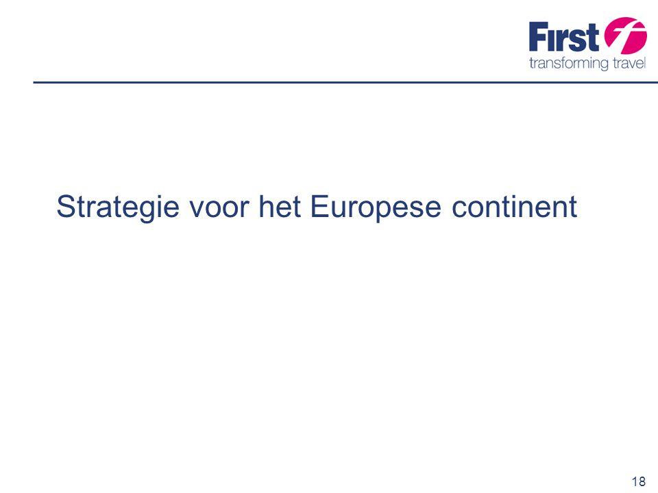 19 Onze Europese doelen Ontwikkelen van een vierde divisie op het Europese continent We investeren in platforms voor duurzame groei op lange termijn We zullen zorgen voor een sterk management dat de regionale en lokale markt goed begrijpt We erkennen de strategische betekenis van de liberalisering in Nederland die in overeenstemming is met de actuele ontwerpwetgeving van de EU voor de transportsector We zullen de kennis en ervaring delen die we hebben opgedaan op een markt die al 20 jaar is geliberaliseerd Wij zien Connexxion als onze basis op het Europese continent