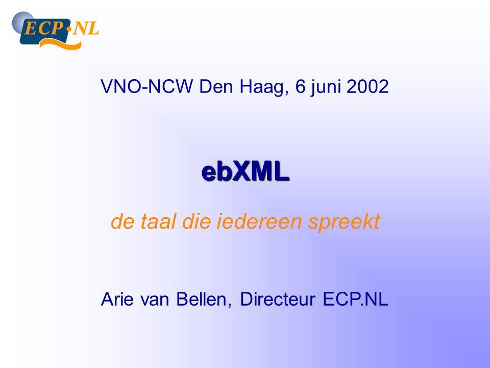 Introductie ECP.NL Neutraal en onafhankelijk platform (non-profit) Agendeert relevante vraagstukken m.b.t.