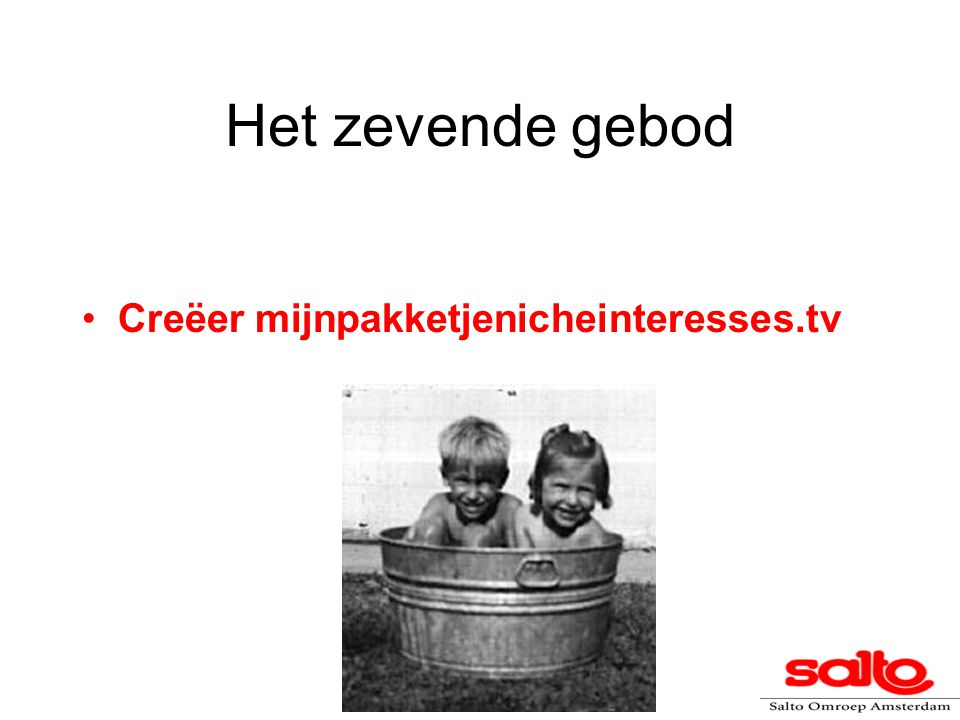 Concrete Projectelementen Telenovela en/of docusoap in kinderkliniek Comedy rond single werkende moeder Spelprogramma/quiz On-line SIM-applicatie Talkshow Hulplijn/on-line vraagbaak Discussie en voorlichting in buurthuis in kader van peuterfeesten De Peuterbus komt naar je toe Open dagen AMC, klinieken e.d.