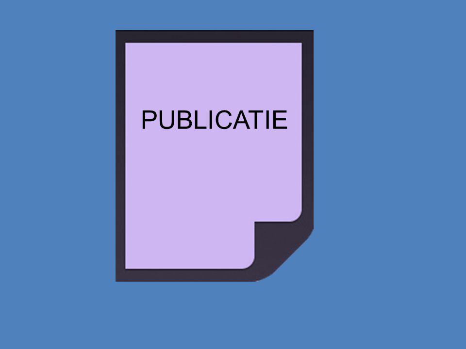 SURFconext Intern publiceren Extern publiceren