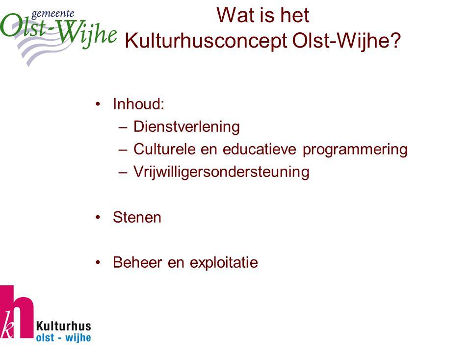Wat is het Kulturhusconcept Olst-Wijhe.