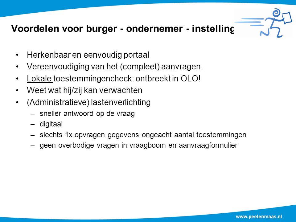 Voordelen voor gemeente Efficiënter klantcontact in de diverse kanalen.