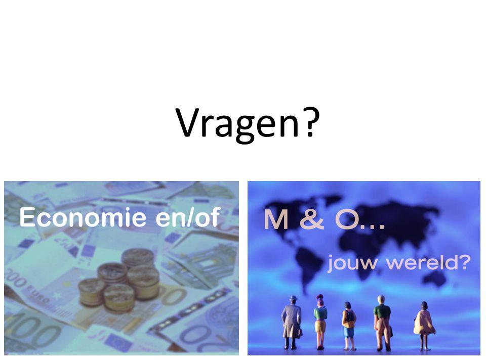 Vragen? Economie en/of
