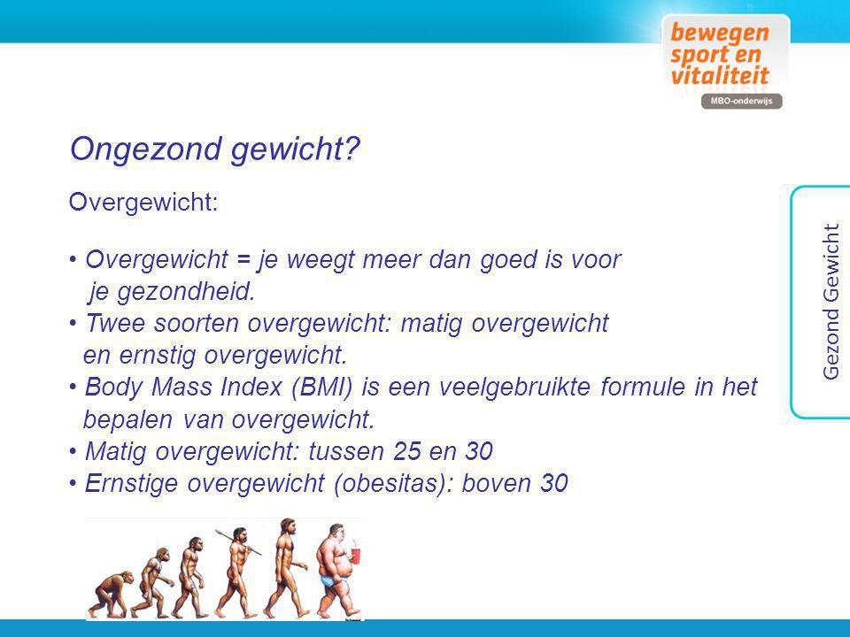 Voeding en energie Gezond Gewicht Energie = opladen & Energie = voeding Hoeveel energie heeft iemand gemiddeld nodig.