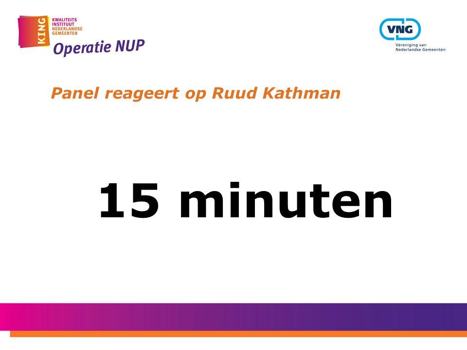 Panel reageert op Ruud Kathman 15 minuten