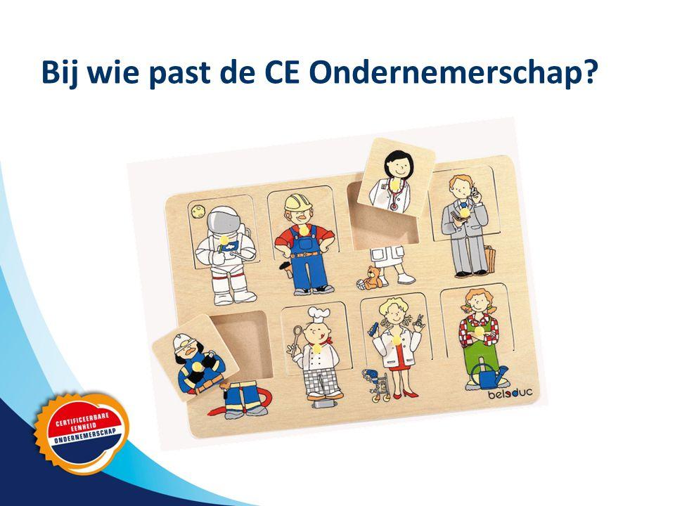 Bij wie past de CE Ondernemerschap?
