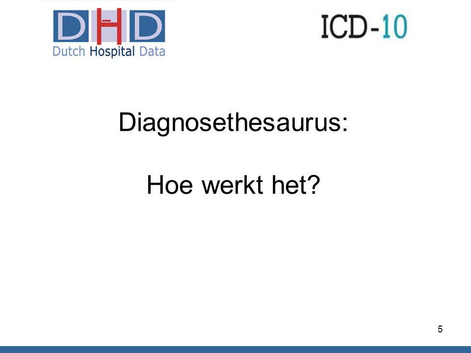 Diagnosethesaurus: Hoe werkt het? 5