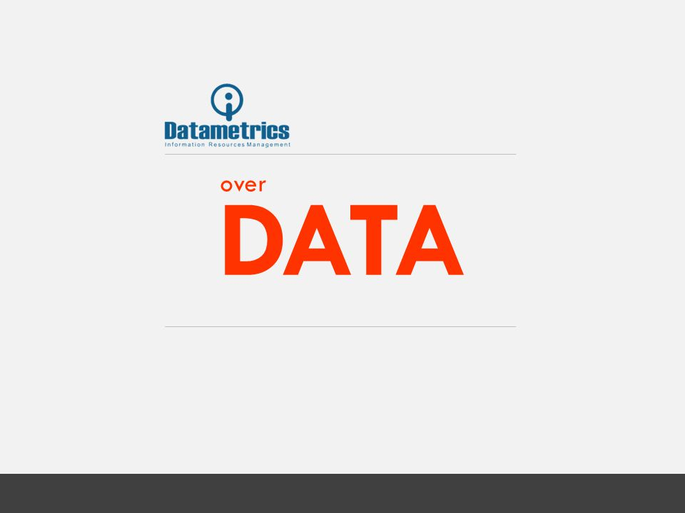 Visie Elk jaar neemt behoefte aan data en interactie tussen systemen (zowel B-2- B als B-2-C) exponentieel toe; daarom zal het structureren en zichtbaar maken van data (data-liquidity) grote invloed hebben op het rendement van de onderneming.