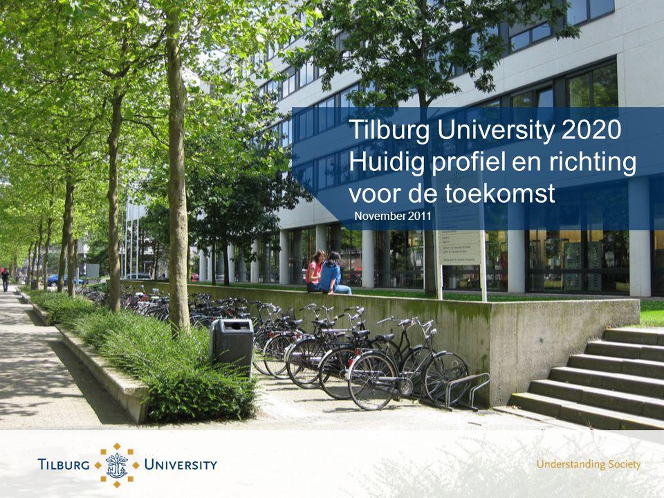 Tilburg University 2020 Huidig profiel en richting voor de toekomst November 2011