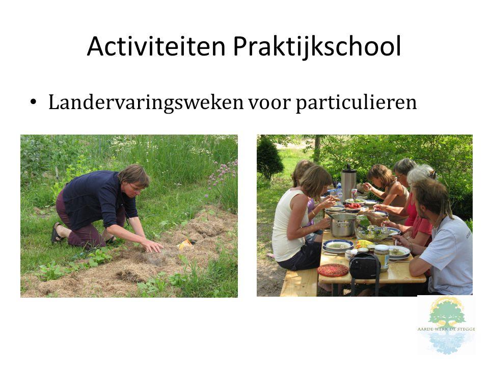Activiteiten Praktijkschool Landervaringsweken voor particulieren