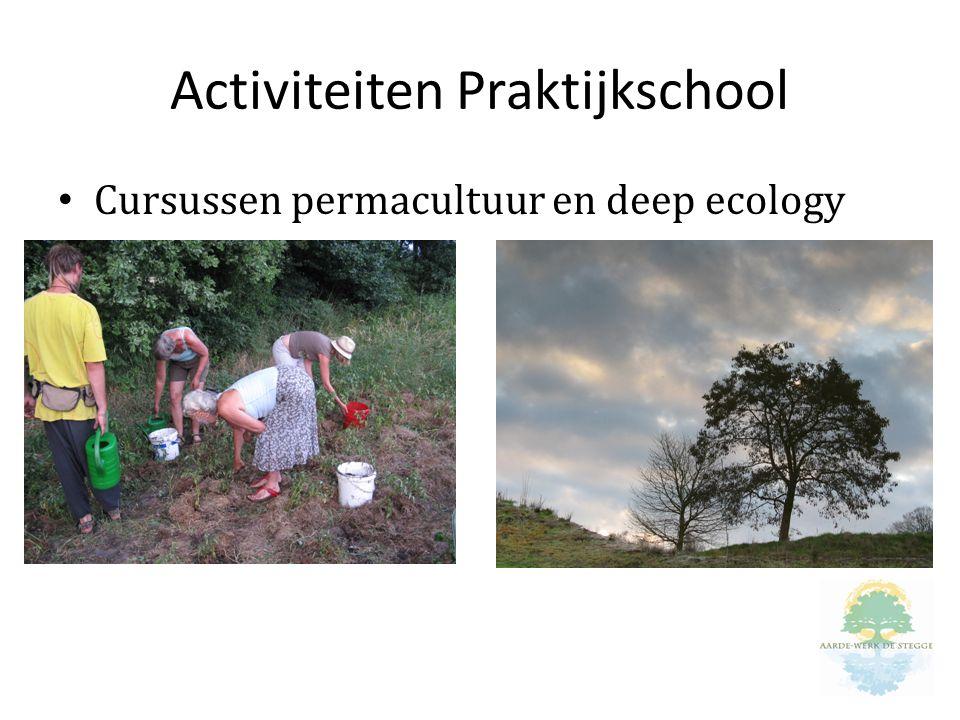 Activiteiten Praktijkschool Cursussen permacultuur en deep ecology