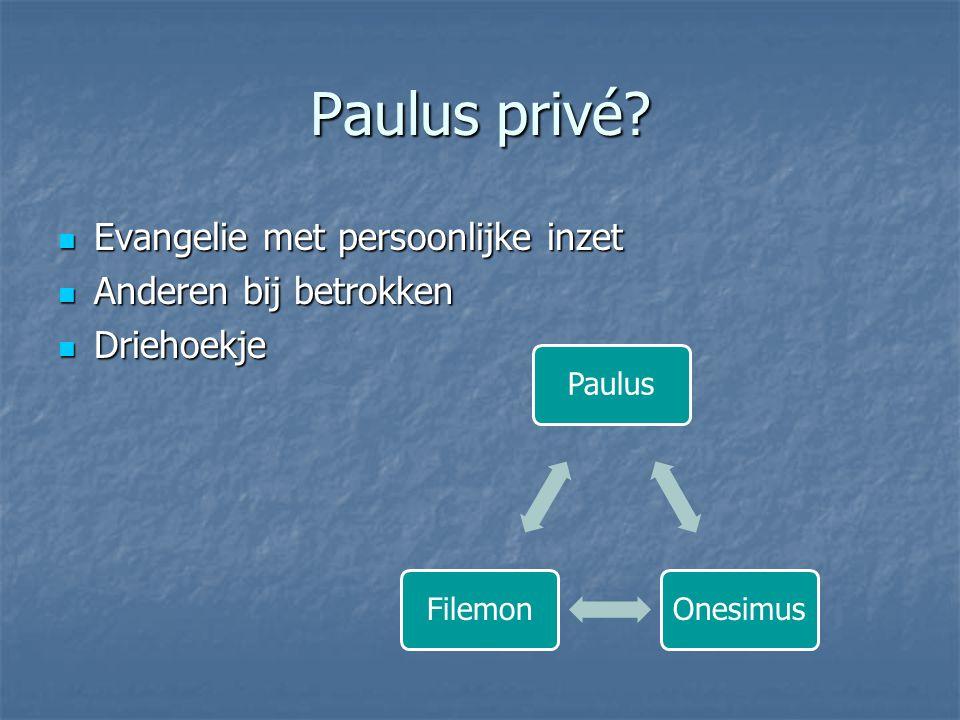 Paulus privé.