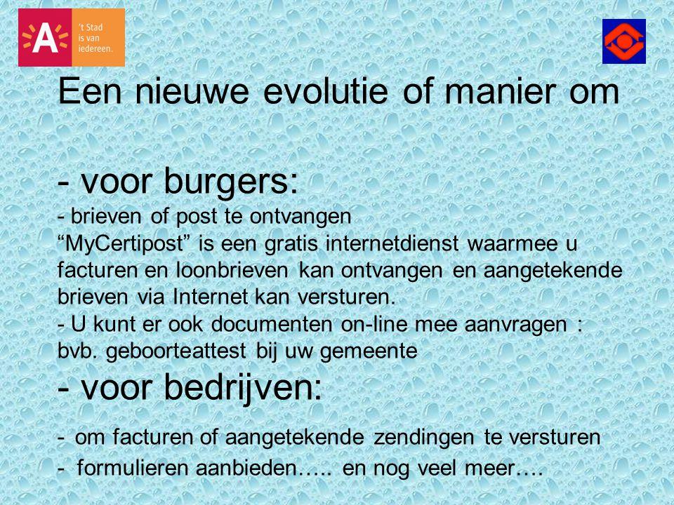 Certipost is opgericht in 2002 in België en heeft wereldwijd meer dan 600 klanten in alle sectoren.