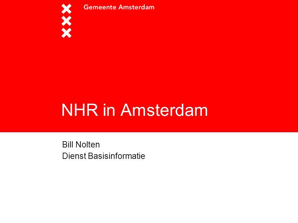 NHR in Amsterdam Bill Nolten Dienst Basisinformatie