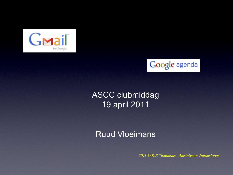ASCC clubmiddag 19 april 2011 Ruud Vloeimans 2011 © R.P.Vloeimans, Amstelveen, Netherlands