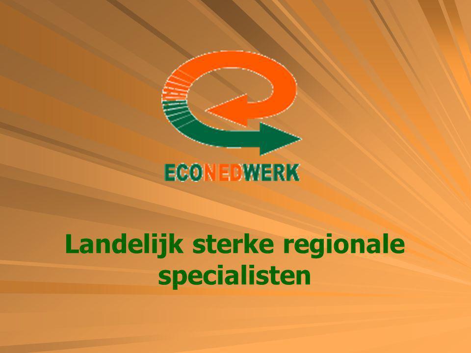 Landelijk sterke regionale specialisten