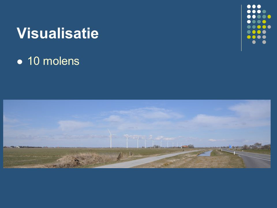 Visualisatie 10 molens