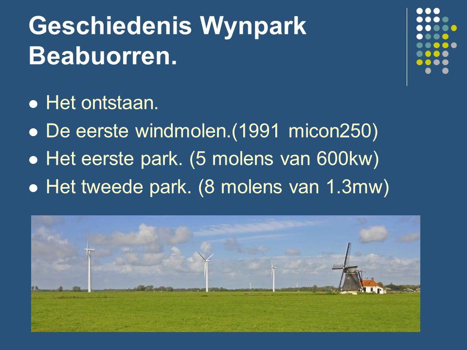 Geschiedenis Wynpark Beabuorren. Het ontstaan.