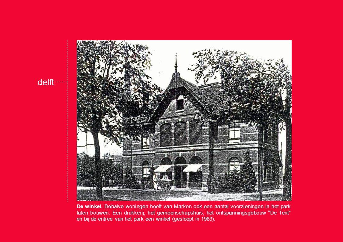 delft De villa Rust Roest voor het echtpaar Van Marken, gebouwd door prof.