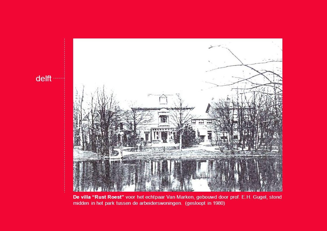 delft Tussen 1924-1927 werd het park uitgebreid.