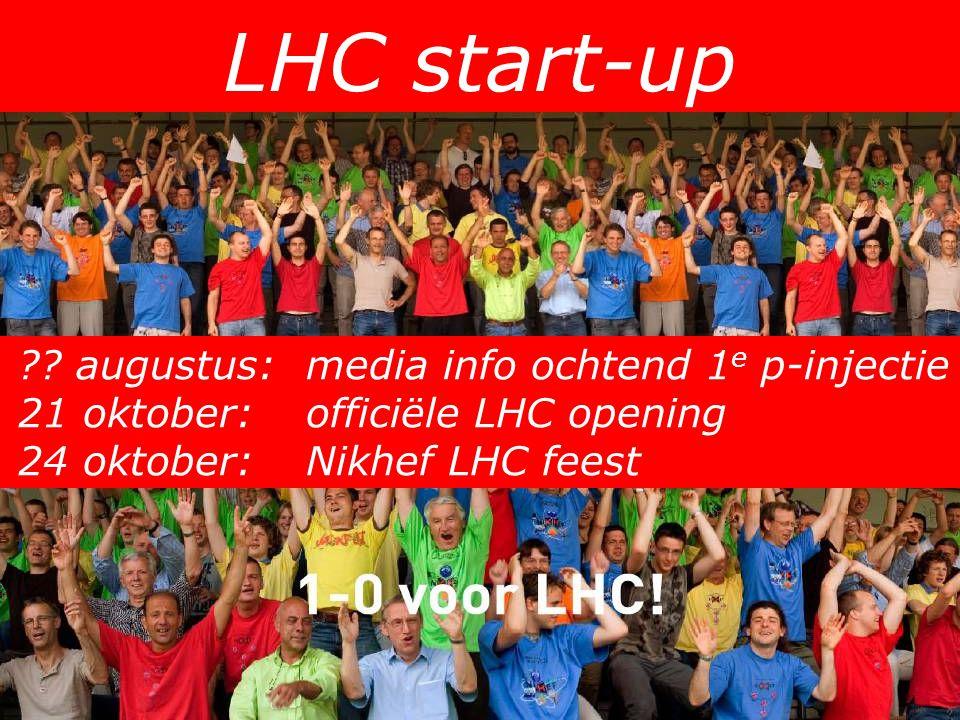 LHC start-up ?.