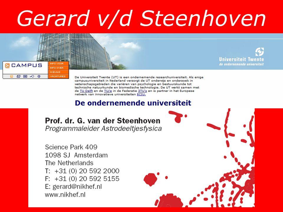 Gerard v/d Steenhoven