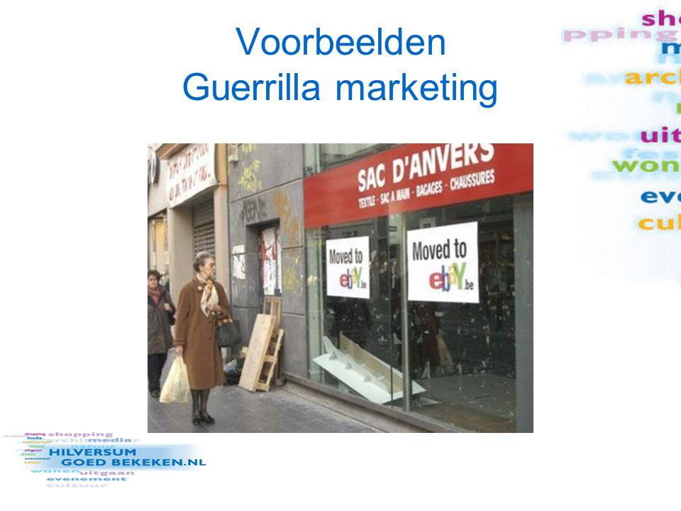 Checklist Is de guerrilla actie origineel (inhoud én vorm).