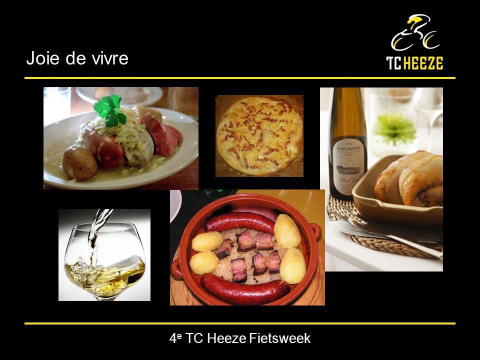 4 e TC Heeze Fietsweek Joie de vivre