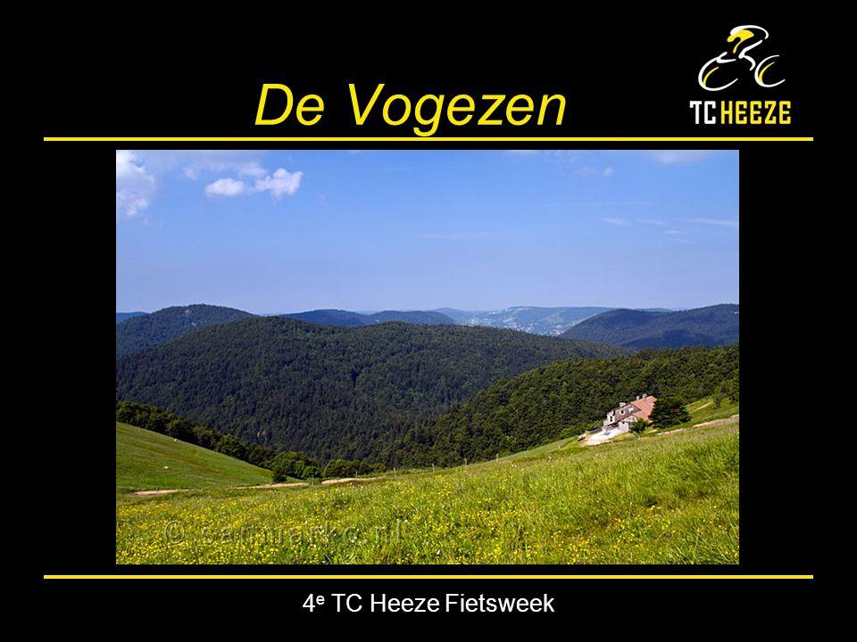 4 e TC Heeze Fietsweek Col de la Schlucht 18 km (4.2% gem) stijging: 759 m top: 1139 m