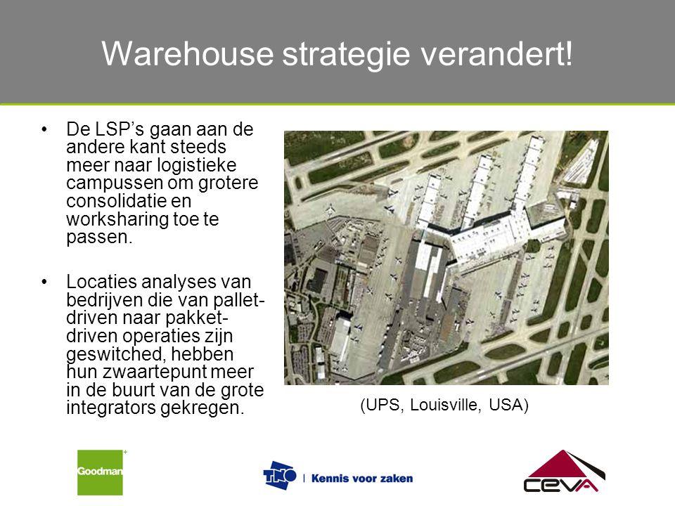 De verschillende eisen van verladers en logistiek dienstverleners De LSP's gaan aan de andere kant steeds meer naar logistieke campussen om grotere co