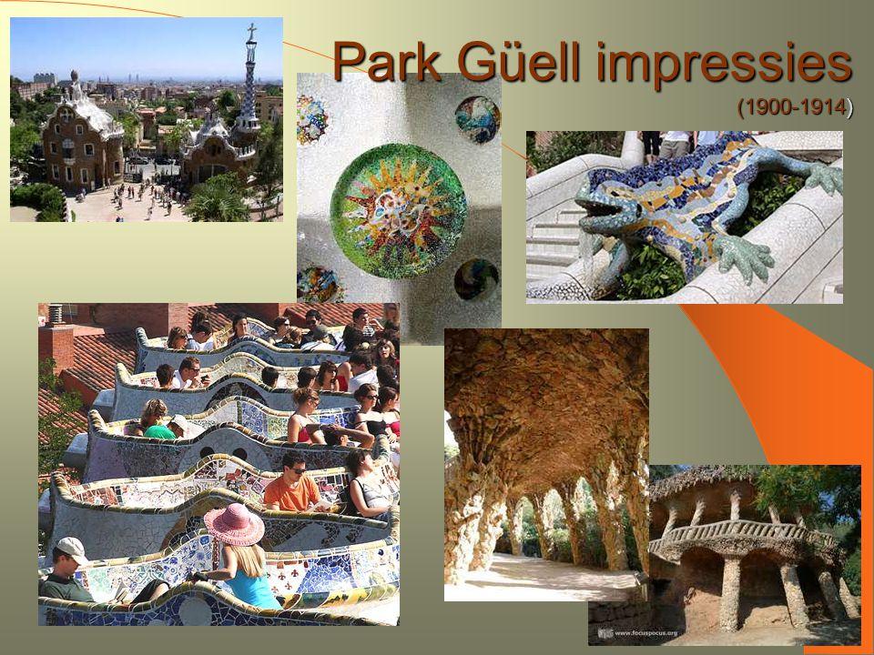Park Güell impressies (1900-1914) 9