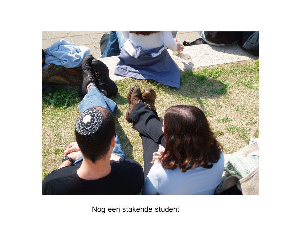 Nog een stakende student