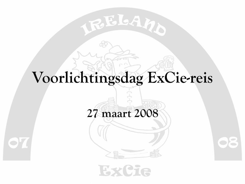 Voorlichtingsdag ExCie-reis 27 maart 2008