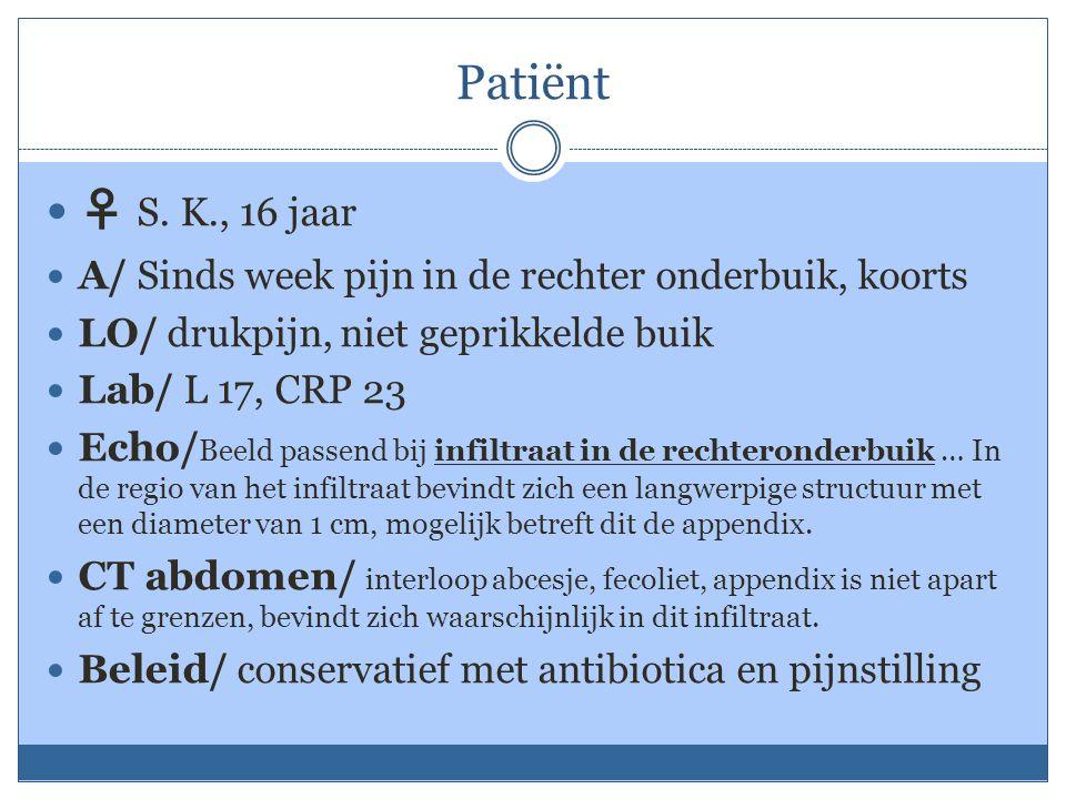 Patiënt ♀ S.