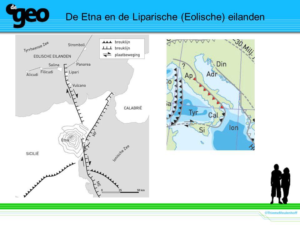 De Etna en de Liparische (Eolische) eilanden