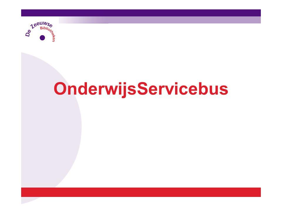 OnderwijsServicebus  Didactisch lesmateriaal voor leerkrachten.