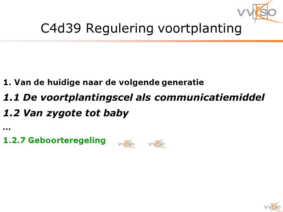 C4d39 Regulering voortplanting 1.