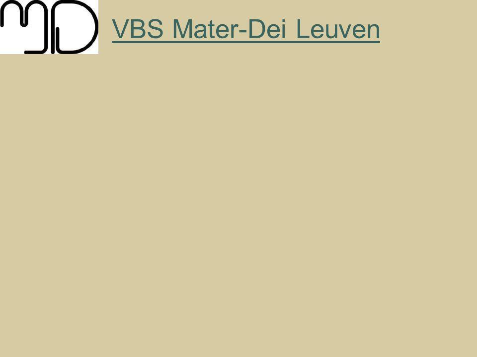 VBS Mater-Dei Leuven