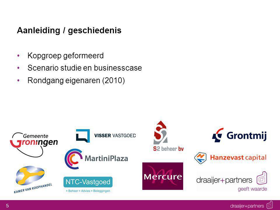 5 Aanleiding / geschiedenis Kopgroep geformeerd Scenario studie en businesscase Rondgang eigenaren (2010)