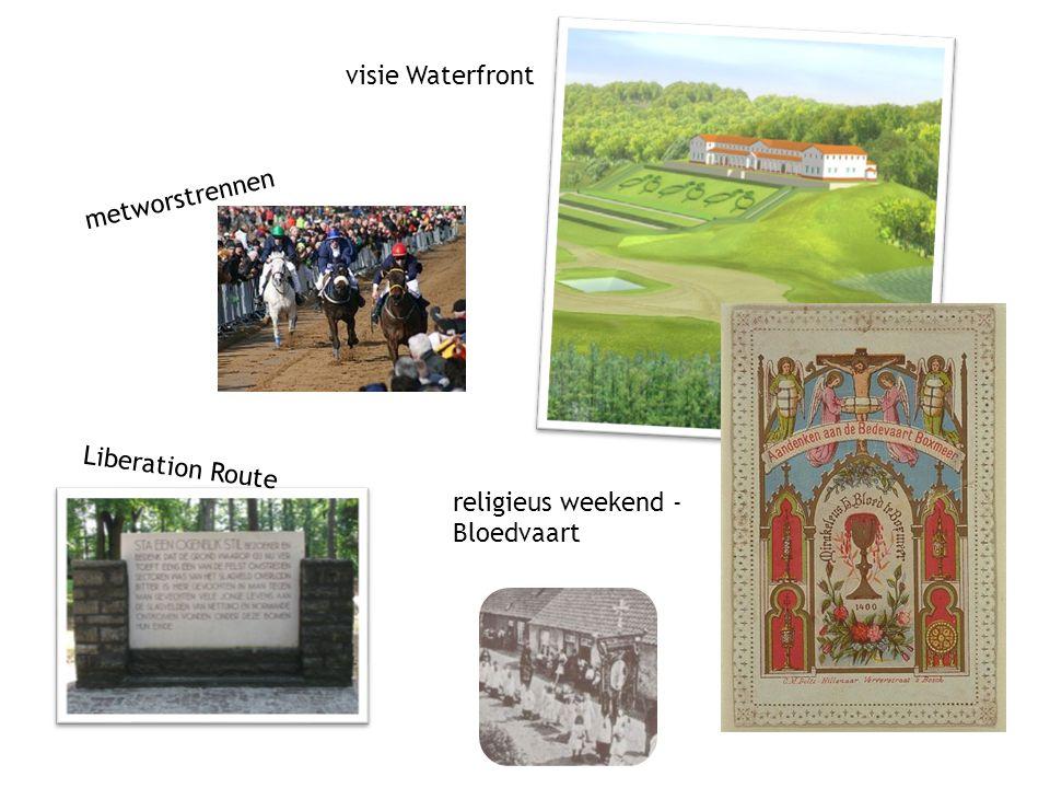fysieke wereld digitale wereld metworstrennen visie Waterfront religieus weekend - Bloedvaart Liberation Route