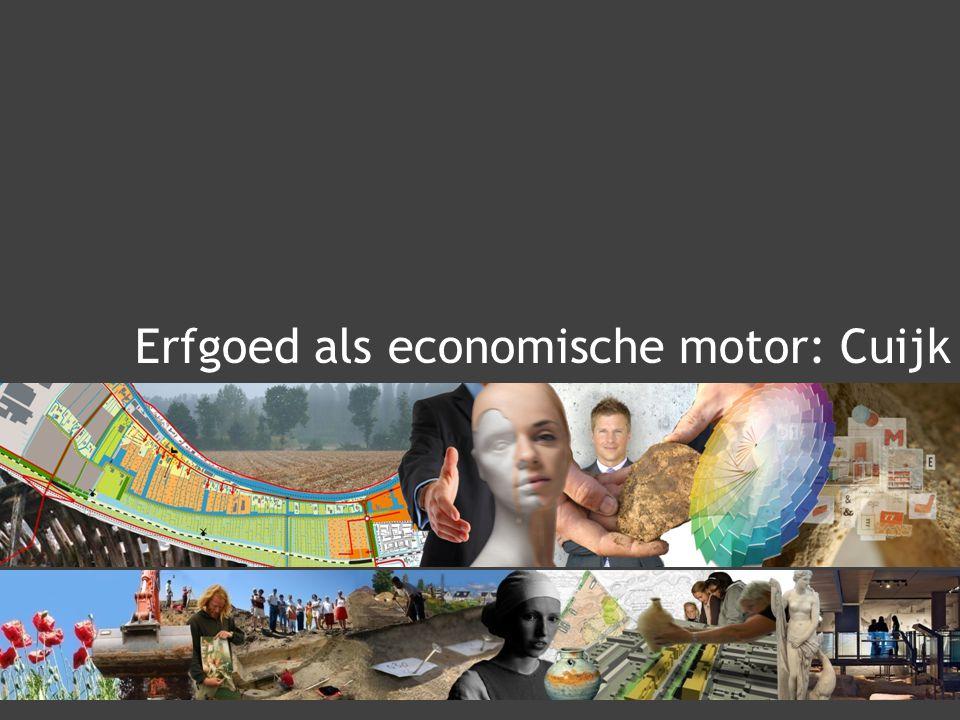 Erfgoed als economische motor: Cuijk