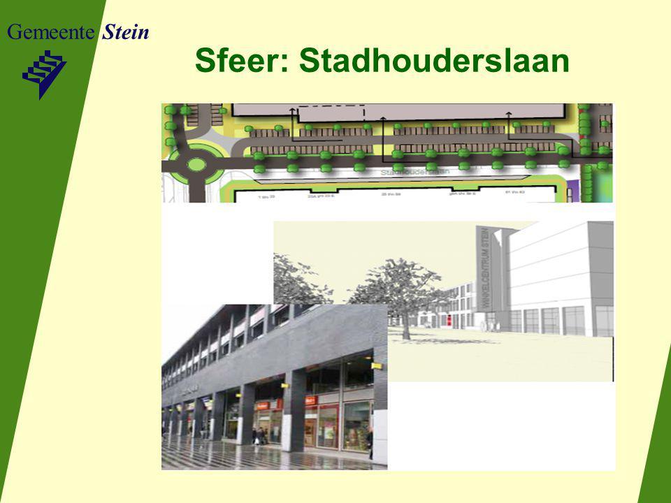 Gemeente Stein Sfeer: Stadhouderslaan
