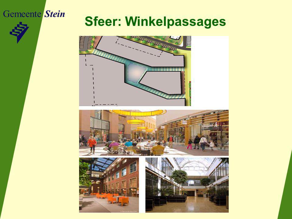 Gemeente Stein Sfeer: Winkelpassages