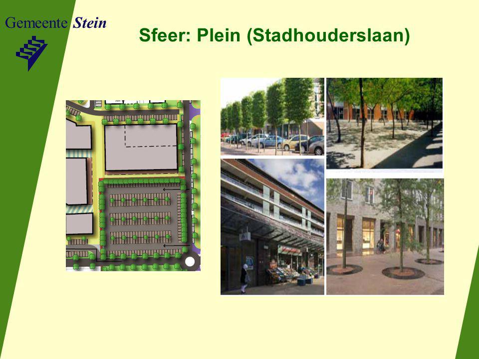 Gemeente Stein Sfeer: Plein (Stadhouderslaan)