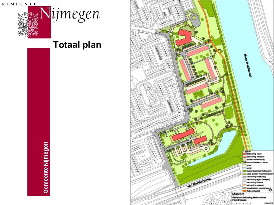 Gemeente Nijmegen Totaal plan