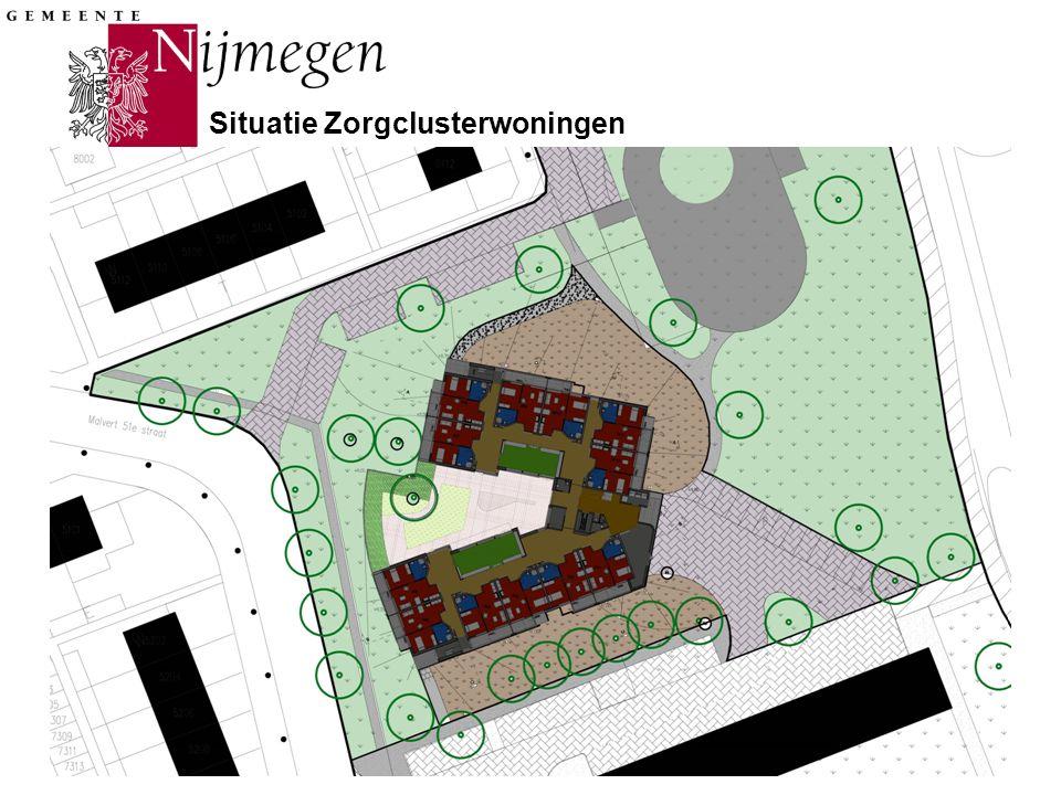 Gemeente Nijmegen Situatie Zorgclusterwoningen