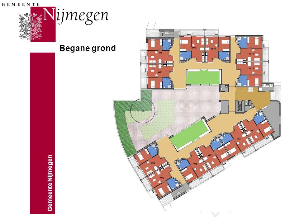 Gemeente Nijmegen Begane grond