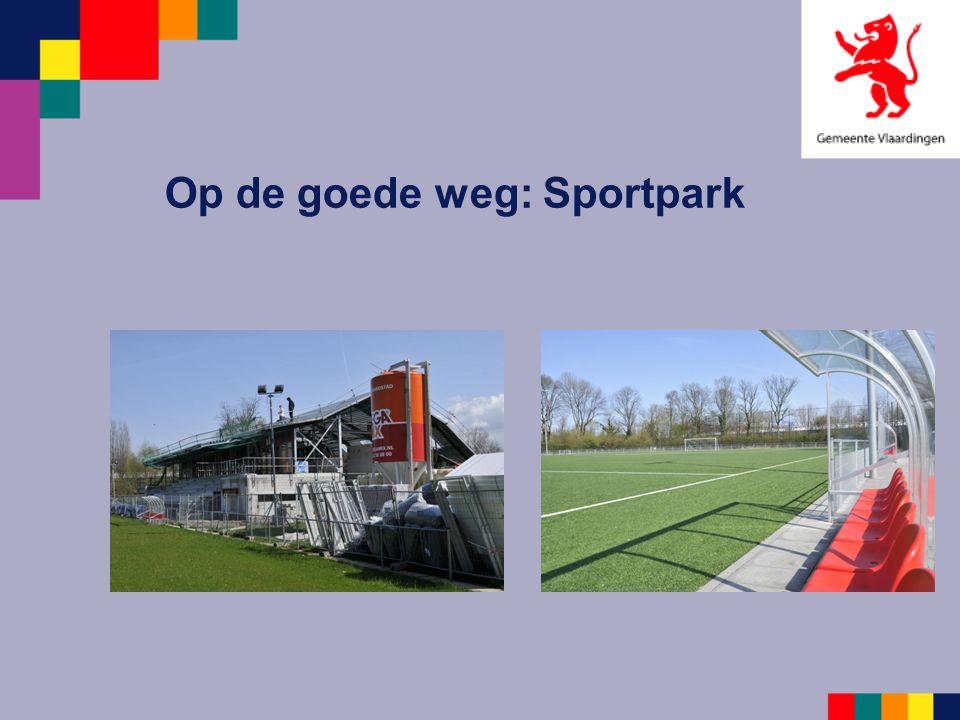 Op de goede weg: Sportpark