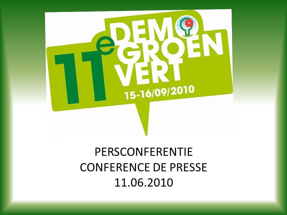 PERSCONFERENTIE CONFERENCE DE PRESSE 11.06.2010